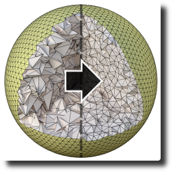 Dihedral Angle-based Maps of Tetrahedral Meshes