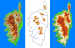 Generation of Folded Terrains from Simple Vector Maps